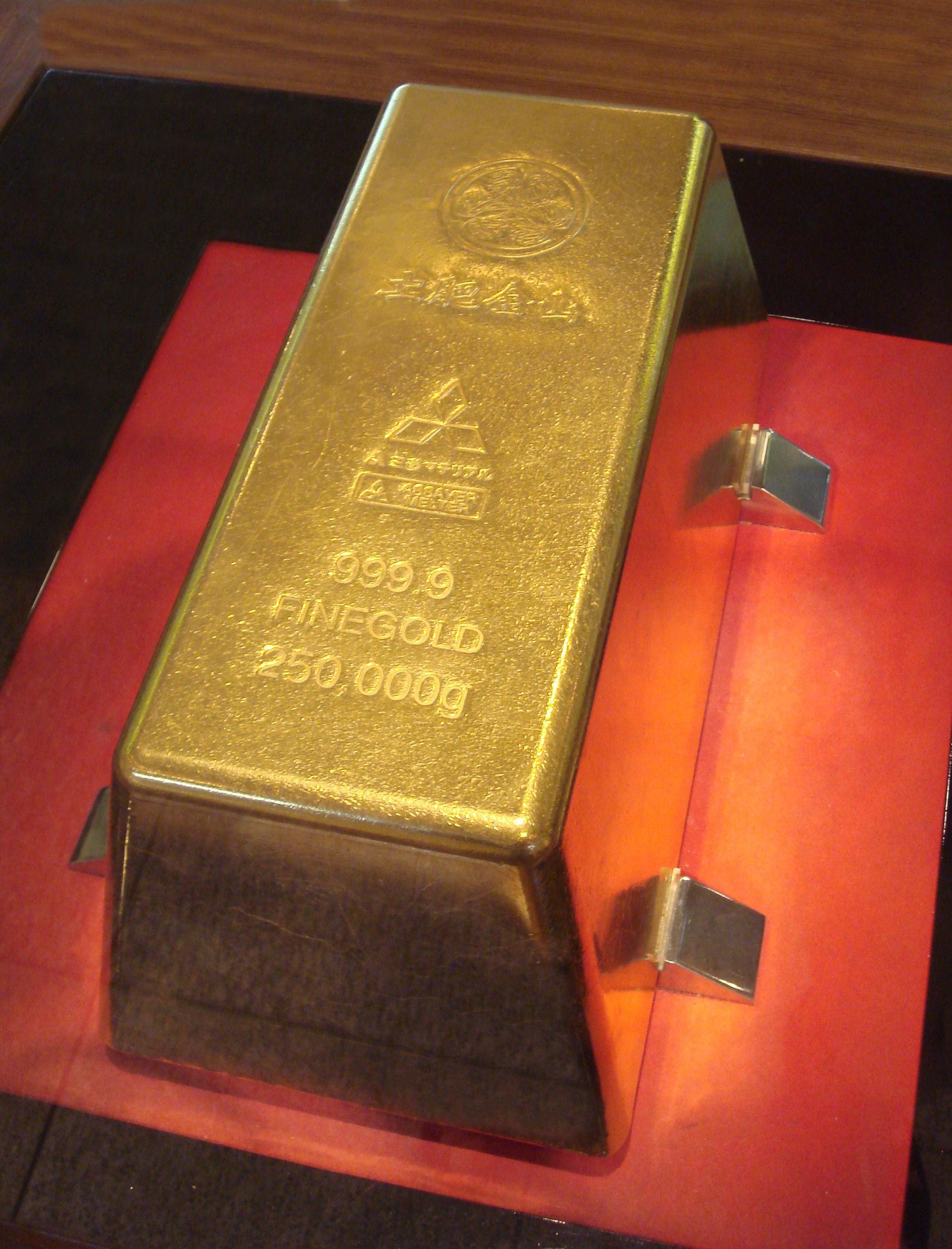 World S Largest Gold Bar