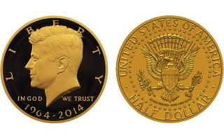 Gold Kennedy coin a draw at Rosemont show