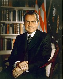 RIchard Nixon in 1971 (Public Domain)