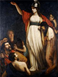 Queen Boudica by John Opie Public Domain