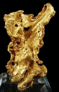 Large gold specimen from the Ballarat mines